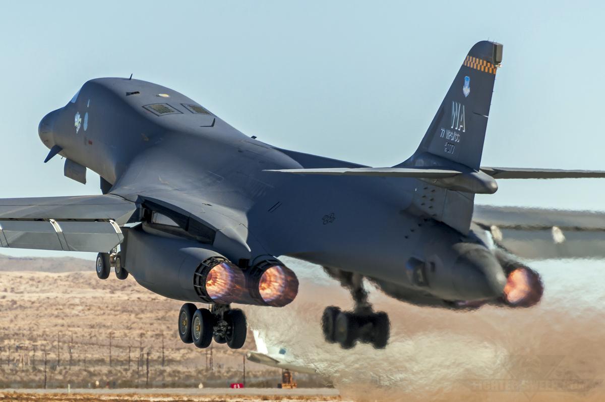 Burner Friday: Rockwell B-1B Lancer | Fighter Sweep B1 Lancer Supersonic