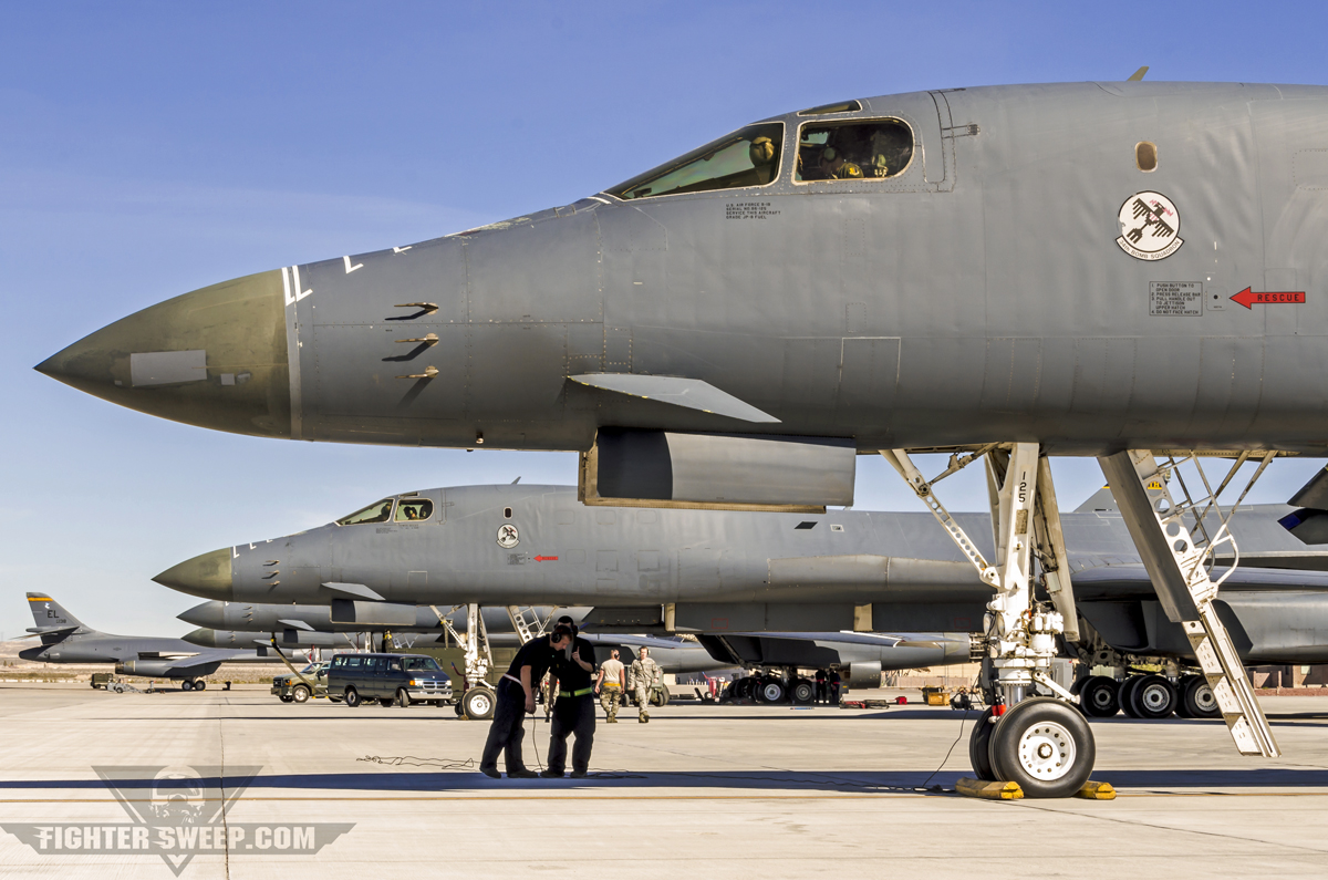 1Bs from the 28t...B1 Lancer Payload