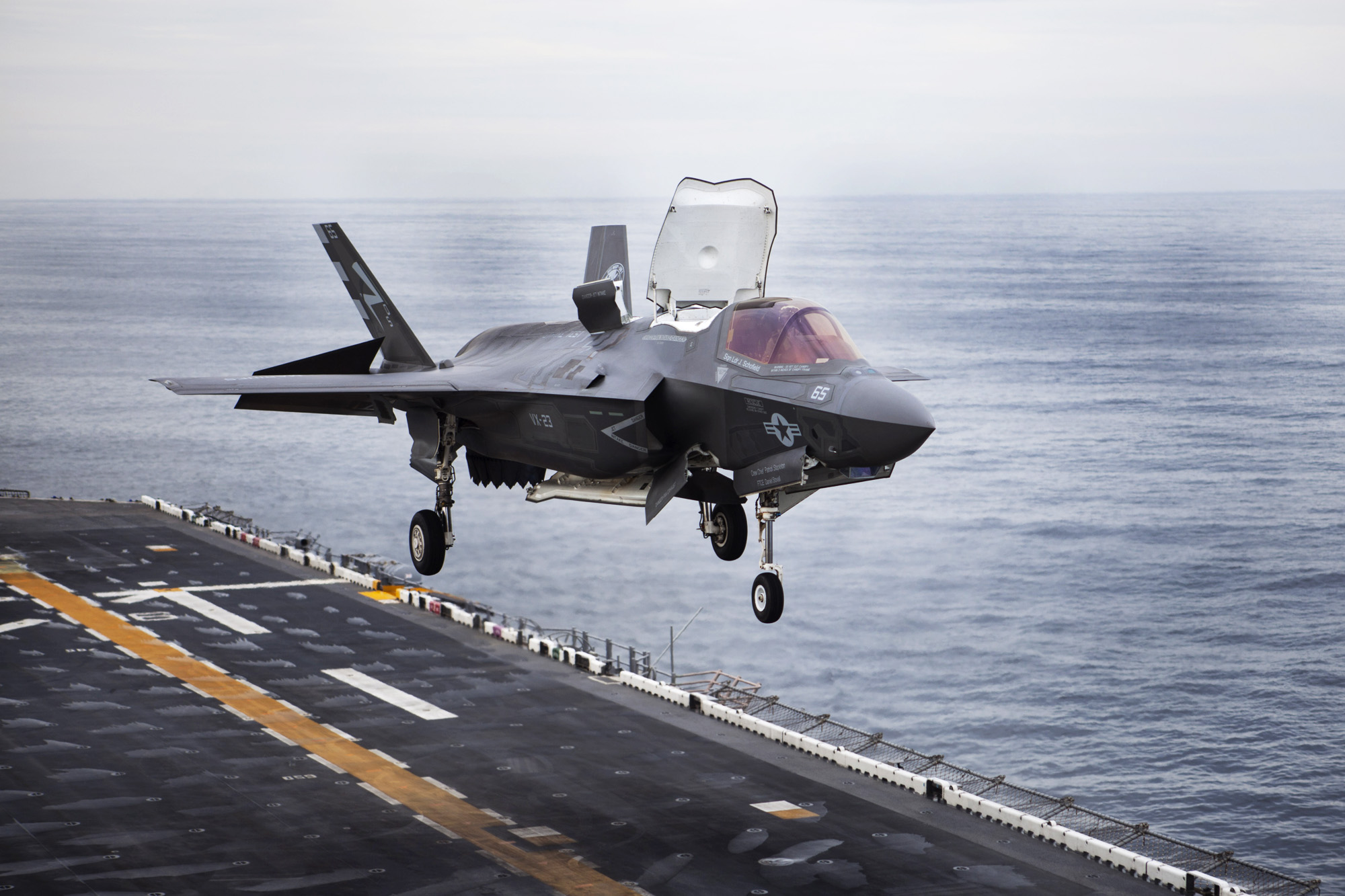 Six Marine Corps F-35Bs Go To Sea | Fighter Sweep