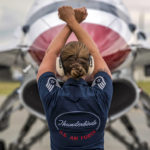 Picture of the Day: Air Force Staff Sgt. Kaitlyn Lamolinara Thunderbirds Crew Chief