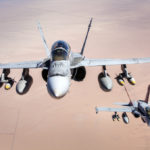 Breaking: 2 Marine Corps F/A-18 Hornets make contact over 29 Palms, manage to land